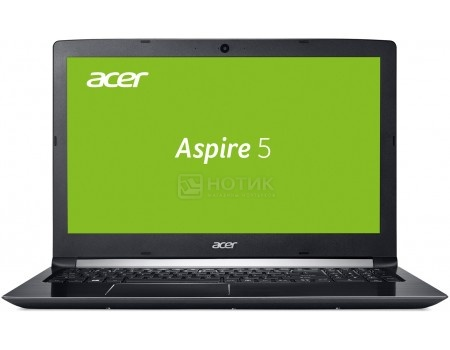 Ноутбук Acer Aspire 5 A515-51G-594W (15.6 LED/ Core i5 7200U 2500MHz/ 6144Mb/ HDD 1000Gb/ NVIDIA GeForce GT 940MX 2048Mb) MS Windows 10 Home (64-bit) [NX.GP5ER.006]