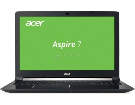Ноутбук Acer Aspire 7 A715-71G-50PL (15.6 LED/ Core i5 7300HQ 2500MHz/ 8192Mb/ HDD+SSD 500Gb/ NVIDIA GeForce® GTX 1050 2048Mb) MS Windows 10 Home (64-bit) [NX.GP8ER.009]