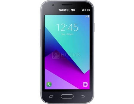 Смартфон Samsung Galaxy J1 mini 2016 SM-J106F DS Black (Android 6.0 (Marshmallow)/SC9830 1500MHz/4.0