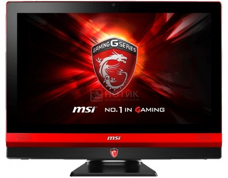 Моноблок MSI Gaming 24 6QE 4K-017RU (23.6 LED/ Core i5 6700HQ 2300MHz/ 16384Mb/ HDD+SSD 1000Gb/ NVIDIA GeForce® GTX 960M 4096Mb) MS Windows 10 Home (64-bit) [9S6-AEA211-017]