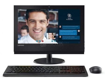 Моноблок Lenovo V310z (19.5 LED/ Core i3 7100 3900MHz/ 4096Mb/ HDD 500Gb/ Intel HD Graphics 630 64Mb) Free DOS [10QG001QRU]