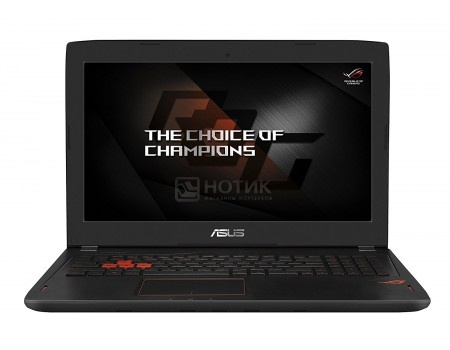 Фотография товара ноутбук ASUS ROG GL502VM-FY303 (15.6 IPS (LED)/ Core i5 7300HQ 2500MHz/ 8192Mb/ HDD+SSD 1000Gb/ NVIDIA GeForce® GTX 1060 3072Mb) Endless OS [90NB0DR1-M05250] (52760)