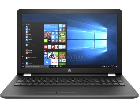 Фотография товара ноутбук HP 15-bs049ur (15.6 TN (LED)/ Pentium Quad Core N3710 1600MHz/ 4096Mb/ HDD 500Gb/ AMD Radeon 520 2048Mb) MS Windows 10 Home (64-bit) [1VH48EA] (52784)