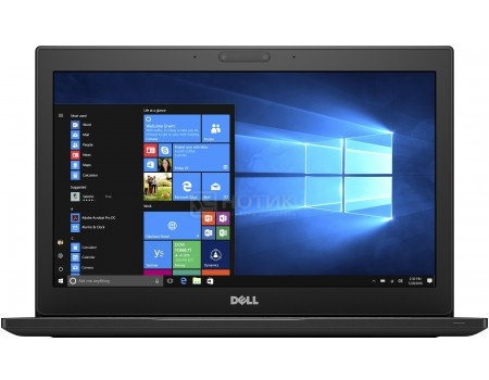 Ультрабук Dell Latitude 7280 (12.5 IPS (LED)/ Core i7 7600U 2800MHz/ 16384Mb/ SSD / Intel HD Graphics 620 64Mb) MS Windows 10 Professional (64-bit) [7280-8654]