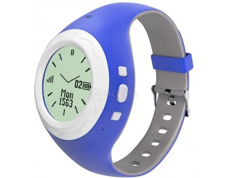 Смарт-часы HIPER BabyGuard Blue BG-01BLU, 430 мАч Синий BG-01BLU tiptop 400вцс blue детские часы телефон