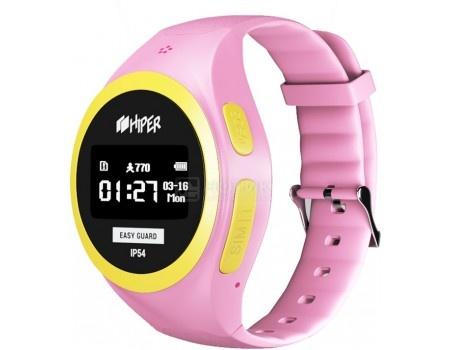 Смарт-часы HIPER EasyGuard Pink EG-01PNK, 430 мАч Розовый EG-01PNK штатив unlim un 3188i pnk pink