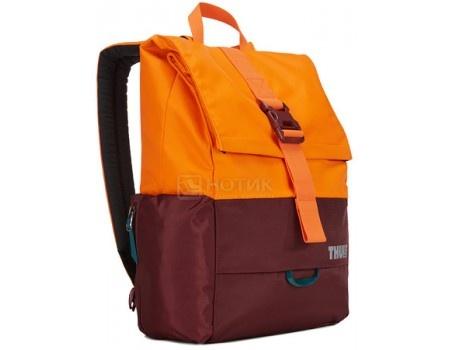 "Рюкзак 13,3"" Thule Departer 23L, TDSB-113 Dark Bordeaux/Vibrant Orange, Нейлон, Оранжевый/Бордовый"