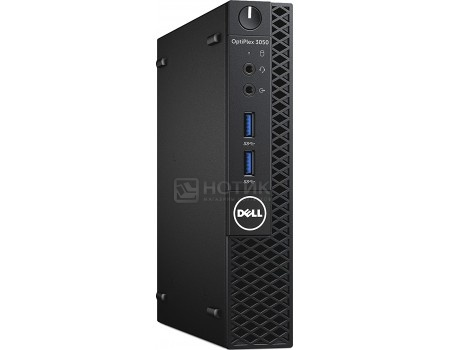 Системный блок Dell OptiPlex 3050 MFF (0.0 / Core i3 7100T 3400MHz/ 4096Mb/ SSD / Intel HD Graphics 630 64Mb) MS Windows 10 Professional (64-bit) [3050-0474], арт: 52838 - Dell