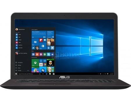 Ноутбук ASUS X756UQ-TY366T (17.3 LED/ Core i5 7200U 2500MHz/ 4096Mb/ HDD 1000Gb/ NVIDIA GeForce GT 940MX 2048Mb) MS Windows 10 Home (64-bit) [90NB0C31-M04280]