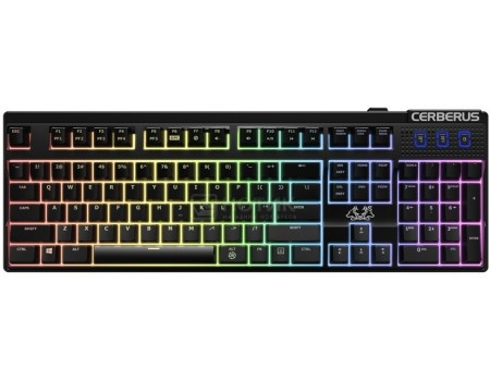 Клавиатура проводная ASUS Cerberus Mech RGB, USB, Черный, 90YH0193-B2RA00