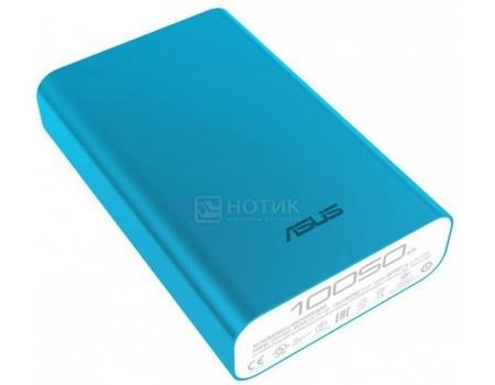 Фотография товара внешний аккумулятор Asus ZenPower Duo 10050 мАч, 5V/2.0А  micro USB, 2 USB 5V/2.4А Голубой 90AC0180-BBT032 (52893)