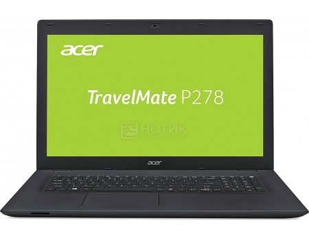Ноутбук Acer TravelMate P278-M-30ZX (17.3 LED/ Core i3 6006U 2000MHz/ 4096Mb/ HDD 500Gb/ Intel HD Graphics 520 64Mb) MS Windows 10 Home (64-bit) [NX.VBPER.011]