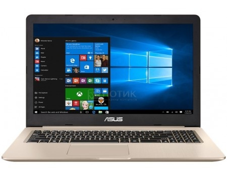 Ноутбук ASUS VivoBook Pro 15 N580VD-DM069T (15.6 TN (LED)/ Core i7 7700HQ 2800MHz/ 8192Mb/ HDD 1000Gb/ NVIDIA GeForce® GTX 1050 2048Mb) MS Windows 10 Home (64-bit) [90NB0FL1-M04520]