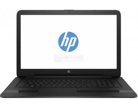 Ноутбук HP 17-bs007ur (17.3 TN (LED)/ Celeron Dual Core N3060 1600MHz/ 4096Mb/ HDD 500Gb/ Intel HD Graphics 400 64Mb) MS Windows 10 Home (64-bit) [1ZJ25EA]