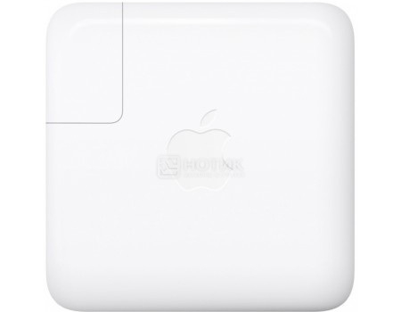 Фотография товара зарядное устройство Apple Power Adapter 61W для MacBook Pro 13 MNF72Z/A, Белый (53034)