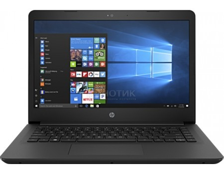 Ноутбук HP 14-bp006ur (14.0 LED/ Pentium Quad Core N3710 1600MHz/ 4096Mb/ HDD 500Gb/ Intel HD Graphics 405 64Mb) Free DOS [1ZJ39EA]