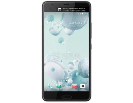 Смартфон HTC U Ultra Ice White 64Gb (Android 7.0 (Nougat)/MSM8996 2150MHz/5.7 2560х1440/4096Mb/64Gb/4G LTE ) [99HALU071-00] htc u ultra sapphire blue 64gb