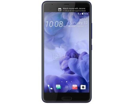 Смартфон HTC U Ultra Sapphire Blue 64Gb (Android 7.0 (Nougat)/MSM8996 2150MHz/5.7 2560х1440/4096Mb/64Gb/4G LTE ) [99HALU072-00] htc u ultra sapphire blue 64gb