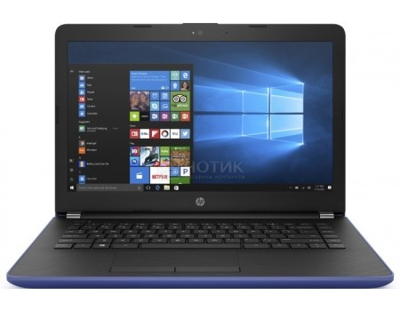 Ноутбук HP 14-bs010ur (14.0 LED/ Pentium Quad Core N3710 1600MHz/ 4096Mb/ HDD 500Gb/ Intel HD Graphics 405 64Mb) MS Windows 10 Home (64-bit) [1ZJ55EA]