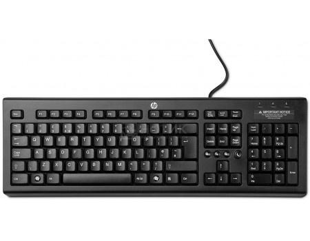 Клавиатура проводная HP Classic Wired Keyboard, USB, Черный