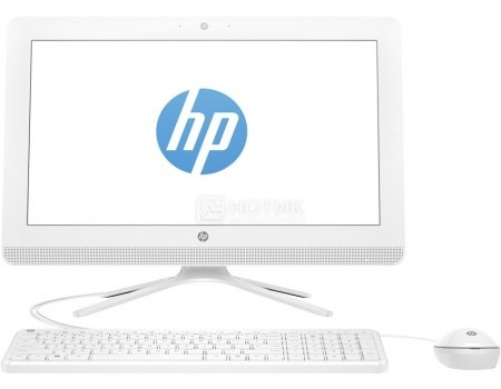 Моноблок HP 20-c029ur (19.5 TN (LED)/ Celeron Dual Core J3060 1600MHz/ 4096Mb/ HDD 500Gb/ Intel HD Graphics 400 64Mb) Free DOS [1EE18EA]