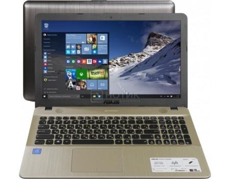 Ноутбук ASUS X541UJ-GQ526T (15.6 LED/ Core i3 6006U 2000MHz/ 4096Mb/ HDD 500Gb/ NVIDIA GeForce GT 920M 2048Mb) MS Windows 10 Home (64-bit) [90NB0ER1-M11480]