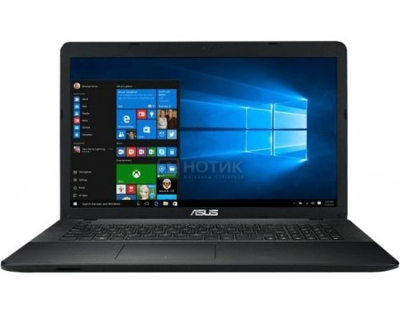 Ноутбук ASUS X751NA-TY003T (17.3 TN (LED)/ Pentium Quad Core N4200 1100MHz/ 4096Mb/ HDD 1000Gb/ Intel HD Graphics 505 64Mb) MS Windows 10 Home (64-bit) [90NB0EA1-M00850]