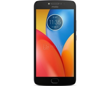 Смартфон Motorola Moto E4 Plus 16Gb Gray (Android 7.1 (Nougat)/MT6737 1300MHz/5.5* 1280x720/3072Mb/16Gb/4G LTE ) [PA700074RU], арт: 53172 - Motorola