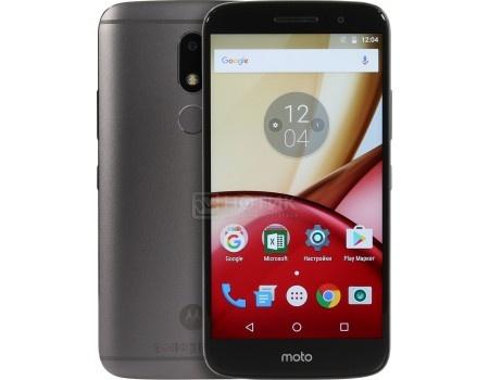 Смартфон Motorola Moto M XT1663 32Gb Gray (Android 6.0 (Marshmallow)/MT6750 1950MHz/5.5 1920x1080/3072Mb/32Gb/4G LTE ) [PA5D0058RU] смартфон moto z 32gb black android 6 0 marshmallow msm8996 2150mhz 5 5 2560х1440 3072mb 32gb 4g lte 3g edge hsdpa hsupa [sm4389ae7u1]