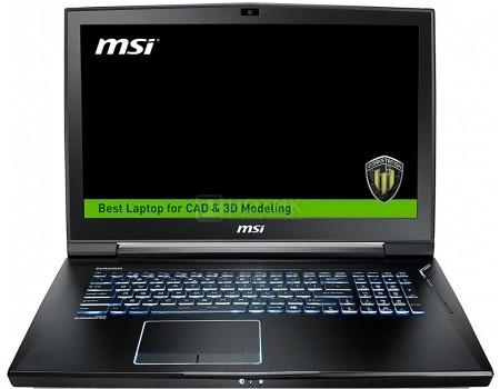 Ноутбук MSI WT73VR 7RM-817RU (17.3 IPS (LED)/ Core i7 7820HK 2900MHz/ 32768Mb/ HDD+SSD 1000Gb/ NVIDIA Quadro P5000 16384Mb) MS Windows 10 Professional (64-bit) [9S7-17A131-817]