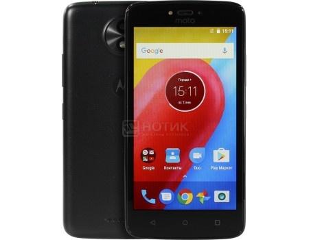 """Motorola Moto C 3G 8Gb Black Смартфон Motorola Moto C 3G 8Gb Black (Android 7.0 (Nougat)/MT6737M 1100MHz/5.00"""" 854x480/1024Mb/8Gb/ 3G (EDGE, HSDPA, HSUPA)) [PA6J0030RU] PA6J0030RU"""