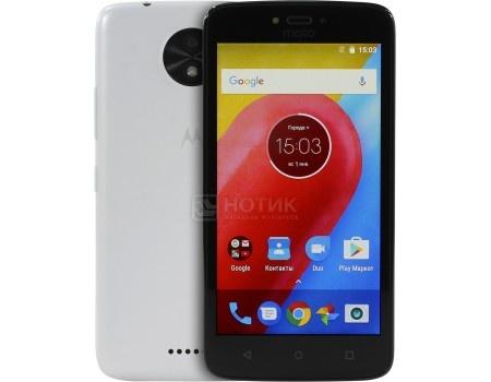 Смартфон Motorola Moto C 3G 8Gb White (Android 7.0 (Nougat)/MT6737M 1100MHz/5.0* 854x480/1024Mb/8Gb/4G LTE ) [PA6J0001RU], арт: 53221 - Motorola