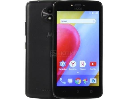 Смартфон Motorola Moto C 4G 16Gb Black (Android 7.0 (Nougat)/MT6737M 1100MHz/5.0* 854x480/1024Mb/16Gb/4G LTE ) [PA6L0083RU], арт: 53222 - Motorola