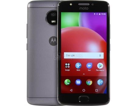 Смартфон Motorola Moto E4 16Gb Gray (Android 7.1 (Nougat)/MT6737 1300MHz/5.0* 1280x720/2048Mb/16Gb/4G LTE ) [PA700074RU], арт: 53228 - Motorola