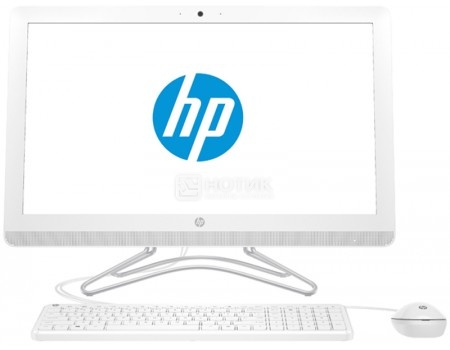Моноблок HP 24-e045ur (23.8 IPS (LED)/ Core i3 7100U 2400MHz/ 4096Mb/ SSD / Intel HD Graphics 620 64Mb) MS Windows 10 Home (64-bit) [2BW39EA]