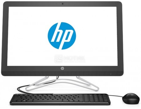 Моноблок HP 24-e047ur (23.8 IPS (LED)/ Core i3 7100U 2400MHz/ 4096Mb/ HDD 1000Gb/ Intel HD Graphics 620 64Mb) MS Windows 10 Home (64-bit) [2BW41EA]