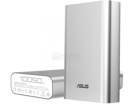 Купить внешний аккумулятор Asus ZenPower ABTU005, 10050 мАч, 2.4A, 1xUSB Серебристый 90AC00P0-BBT077 (53355) в Москве, в Спб и в России