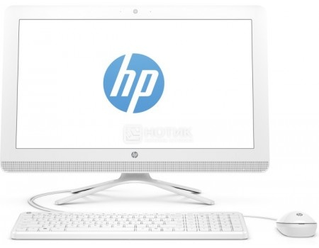 Моноблок HP 22-b349ur (21.5 IPS (LED)/ Core i3 7100U 2400MHz/ 4096Mb/ HDD 1000Gb/ NVIDIA GeForce GT 920MX 2048Mb) MS Windows 10 Home (64-bit) [2BW22EA]