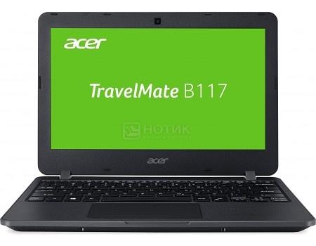 Ноутбук Acer TravelMate B117-M (11.6 TN (LED)/ Celeron Dual Core N3060 1600MHz/ 2048Mb/ SSD / Intel HD Graphics 400 64Mb) MS Windows 10 Professional (64-bit) [NX.VCHER.018]