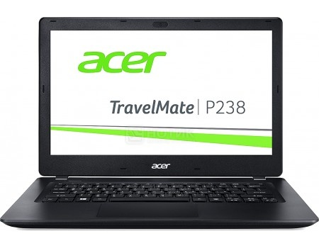 Ноутбук Acer TravelMate P238-M-P96L (13.3 TN (LED)/ Pentium Dual Core 4405U 2100MHz/ 4096Mb/ HDD 500Gb/ Intel HD Graphics 510 64Mb) MS Windows 10 Home (64-bit) [NX.VBXER.018]