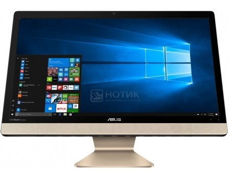 Моноблок ASUS Vivo AiO V221ICUK-BA031T (21.5 TN (LED)/ Core i3 7100U 2400MHz/ 4096Mb/ HDD 1000Gb/ Intel HD Graphics 620 64Mb) MS Windows 10 Home (64-bit) [90PT01U1-M00410], арт: 53469 - ASUS