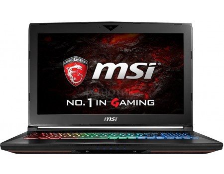 Ноутбук MSI GT62VR 7RE-427RU Dominator Pro (15.6 TN (LED)/ Core i7 7700HQ 2800MHz/ 16384Mb/ HDD+SSD 1000Gb/ NVIDIA GeForce® GTX 1070 8192Mb) MS Windows 10 Home (64-bit) [9S7-16L231-427]