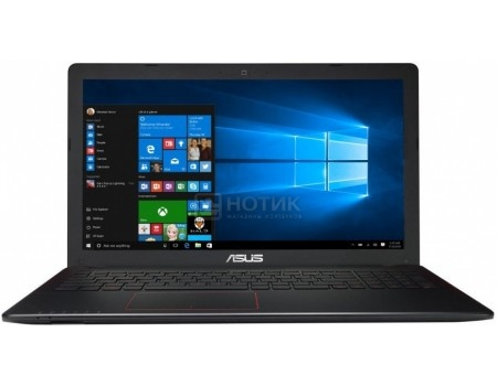 Ноутбук ASUS K550VX-DM466T (15.6 LED/ Core i5 6300HQ 2300MHz/ 4096Mb/ HDD+SSD 500Gb/ NVIDIA GeForce® GTX 950M 2048Mb) MS Windows 10 Home (64-bit) [90NB0BBJ-M06190] купить