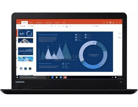 Ноутбук Lenovo ThinkPad 13 (13.3 TN (LED)/ Core i3 7100U 2400MHz/ 4096Mb/ SSD / Intel HD Graphics 620 64Mb) MS Windows 10 Home (64-bit) [20J1004YRT]