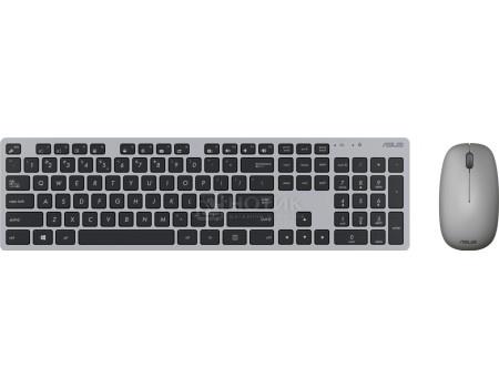 Клавиатура + мышь беспроводная ASUS W5000 (комплект), Серый 90XB0430-BKM0J0