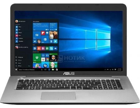 Ноутбук ASUS X756UW-T4081T (17.3 LED/ Core i7 7500U 2700MHz/ 8192Mb/ HDD+SSD 1000Gb/ NVIDIA GeForce® GTX 960M 4096Mb) MS Windows 10 Home (64-bit) [90NB0C43-M00850]
