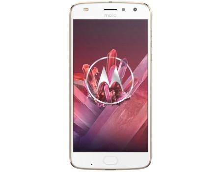 Смартфон Motorola Moto Z2 Play 64Gb Gold (Android 7.1 (Nougat)/MSM8953Pro 2200MHz/5.5* 1920x1080/4096Mb/64Gb/4G LTE ) [SM4481AJ1U1], арт: 53712 - Motorola