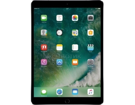 Планшет Apple iPad Pro 10.5 64Gb Wi-Fi + Cellular Space Gray (iOS 10/A10X 2360MHz/10.5