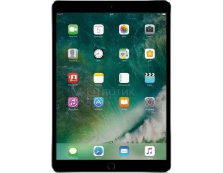 "Фотография товара планшет Apple iPad Pro 10.5 64Gb Wi-Fi Space Gray (iOS 10/A10X 2360MHz/10.5"" 2224x1668/4096Mb/64Gb/ ) [MQDT2RU/A] (53733)"