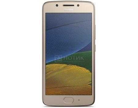 Смартфон Motorola Moto G5 16Gb Gold (Android 7.0 (Nougat)/MSM8937 1400MHz/5.0* 1920x1080/2048Mb/16Gb/4G LTE ) [PA610079RU], арт: 53810 - Motorola